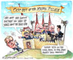 Cartoonist Matt Wuerker  Matt Wuerker's Editorial Cartoons 2015-02-10 Iraq war