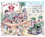 Cartoonist Matt Wuerker  Matt Wuerker's Editorial Cartoons 2016-03-24 retirement