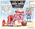 Cartoonist Matt Wuerker  Matt Wuerker's Editorial Cartoons 2016-06-07 basketball game