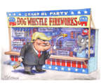 Cartoonist Matt Wuerker  Matt Wuerker's Editorial Cartoons 2016-07-01 dog