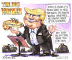Cartoonist Matt Wuerker  Matt Wuerker's Editorial Cartoons 2016-09-19 dog