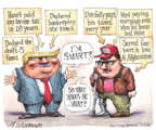 Cartoonist Matt Wuerker  Matt Wuerker's Editorial Cartoons 2016-10-05 payment