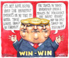 Cartoonist Matt Wuerker  Matt Wuerker's Editorial Cartoons 2017-01-13 foreign
