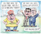 Cartoonist Matt Wuerker  Matt Wuerker's Editorial Cartoons 2017-03-07 Paul Ryan