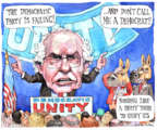 Cartoonist Matt Wuerker  Matt Wuerker's Editorial Cartoons 2017-04-26 democratic party