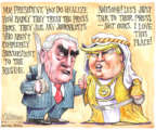 Cartoonist Matt Wuerker  Matt Wuerker's Editorial Cartoons 2017-05-22 foreign