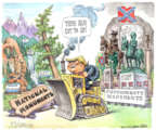 Cartoonist Matt Wuerker  Matt Wuerker's Editorial Cartoons 2017-08-17 confederate