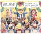 Cartoonist Matt Wuerker  Matt Wuerker's Editorial Cartoons 2017-12-13 Donald Trump Lawyers