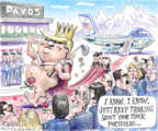 Cartoonist Matt Wuerker  Matt Wuerker's Editorial Cartoons 2018-01-26 global economy