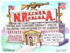 Cartoonist Matt Wuerker  Matt Wuerker's Editorial Cartoons 2018-02-24 weapon