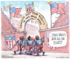 Cartoonist Matt Wuerker  Matt Wuerker's Editorial Cartoons 2018-05-25 flag
