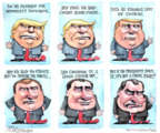 Cartoonist Matt Wuerker  Matt Wuerker's Editorial Cartoons 2018-09-04 enemy
