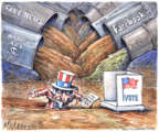 Cartoonist Matt Wuerker  Matt Wuerker's Editorial Cartoons 2018-11-06 election