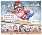 Cartoonist Matt Wuerker  Matt Wuerker's Editorial Cartoons 2019-01-17 William Barr