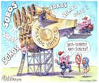 Cartoonist Matt Wuerker  Matt Wuerker's Editorial Cartoons 2019-02-12 dog