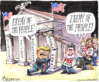 Cartoonist Matt Wuerker  Matt Wuerker's Editorial Cartoons 2019-04-01 enemy