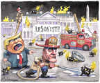 Cartoonist Matt Wuerker  Matt Wuerker's Editorial Cartoons 2019-04-30 presidential administration