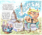 Cartoonist Matt Wuerker  Matt Wuerker's Editorial Cartoons 2019-07-18 presidential administration
