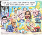 Cartoonist Matt Wuerker  Matt Wuerker's Editorial Cartoons 2019-08-02 presidential administration