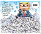 Cartoonist Matt Wuerker  Matt Wuerker's Editorial Cartoons 2019-12-17 Donald Trump