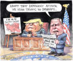 Cartoonist Matt Wuerker  Matt Wuerker's Editorial Cartoons 2020-01-07 Donald Trump