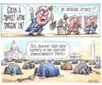 Cartoonist Matt Wuerker  Matt Wuerker's Editorial Cartoons 2020-01-09 congressional scandal