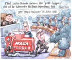 Cartoonist Matt Wuerker  Matt Wuerker's Editorial Cartoons 2020-01-23 news