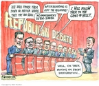 Cartoonist Matt Wuerker  Matt Wuerker's Editorial Cartoons 2007-05-29 war is hell
