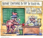 Cartoonist Matt Wuerker  Matt Wuerker's Editorial Cartoons 2007-07-19 writing