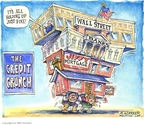 Cartoonist Matt Wuerker  Matt Wuerker's Editorial Cartoons 2007-08-02 real estate