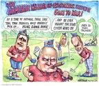 Cartoonist Matt Wuerker  Matt Wuerker's Editorial Cartoons 2007-10-17 conservative media