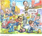 Cartoonist Matt Wuerker  Matt Wuerker's Editorial Cartoons 2007-11-14 Iowa