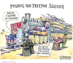 Cartoonist Matt Wuerker  Matt Wuerker's Editorial Cartoons 2008-01-17 Middle East
