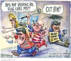 Cartoonist Matt Wuerker  Matt Wuerker's Editorial Cartoons 2008-05-14 2008 election