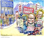 Cartoonist Matt Wuerker  Matt Wuerker's Editorial Cartoons 2008-08-25 democratic party