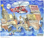 Cartoonist Matt Wuerker  Matt Wuerker's Editorial Cartoons 2008-09-17 finance