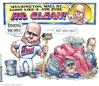 Cartoonist Matt Wuerker  Matt Wuerker's Editorial Cartoons 2008-09-24 George W. Bush economy