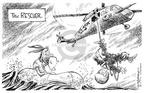 Cartoonist Nick Anderson  Nick Anderson's Editorial Cartoons 2003-10-10 lifeboat