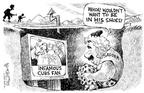 Cartoonist Nick Anderson  Nick Anderson's Editorial Cartoons 2003-10-17 catch baseball