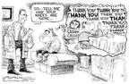 Cartoonist Nick Anderson  Nick Anderson's Editorial Cartoons 2003-12-19 bone