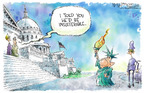 Cartoonist Nick Anderson  Nick Anderson's Editorial Cartoons 2005-02-02 difficult