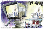 Cartoonist Nick Anderson  Nick Anderson's Editorial Cartoons 2005-03-16 credible