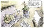 Cartoonist Nick Anderson  Nick Anderson's Editorial Cartoons 2004-05-06 father