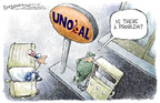 Cartoonist Nick Anderson  Nick Anderson's Editorial Cartoons 2005-07-07 foreign car