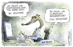 Cartoonist Nick Anderson  Nick Anderson's Editorial Cartoons 2005-07-08 classified information