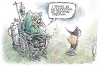 Cartoonist Nick Anderson  Nick Anderson's Editorial Cartoons 2005-07-21 freedom