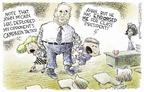 Cartoonist Nick Anderson  Nick Anderson's Editorial Cartoons 2004-08-13 veteran