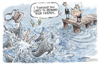 Cartoonist Nick Anderson  Nick Anderson's Editorial Cartoons 2005-10-28 supreme court nominee