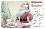Cartoonist Nick Anderson  Nick Anderson's Editorial Cartoons 2005-12-25 cookie