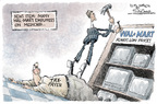 Cartoonist Nick Anderson  Nick Anderson's Editorial Cartoons 2006-01-15 taxation